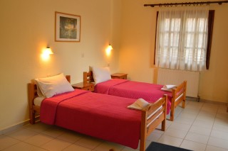 apartment pension nikos single beds