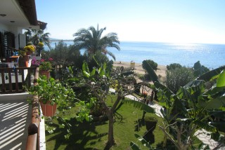 facilities pension nikos sea view balcony