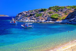 location pension nikos halkidiki beach